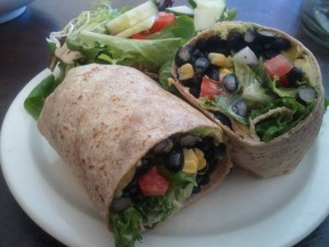 Muse on 8th Black Bean Avocado Wrap