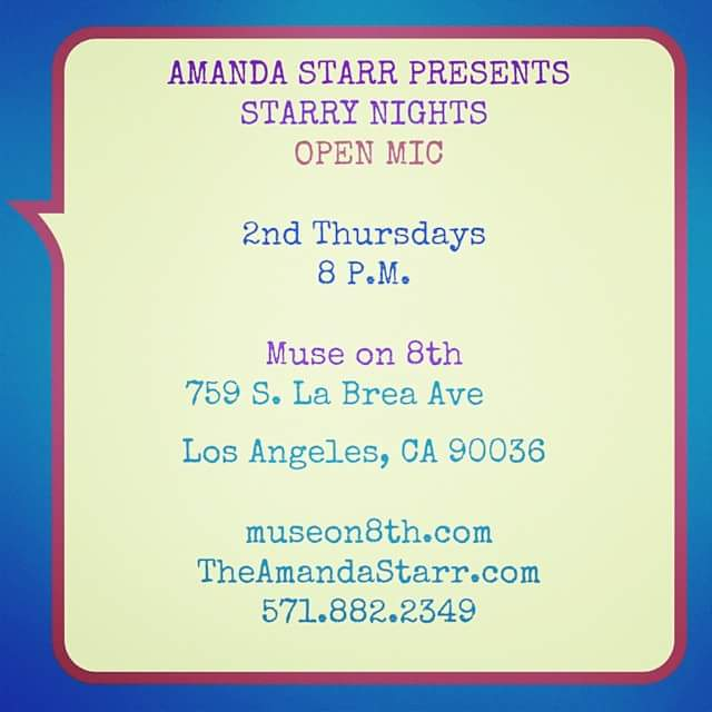 Amanda Starr Hosting Starry Nights at MUSE On 8th Parts 1 & 2 [Valentines Edition]